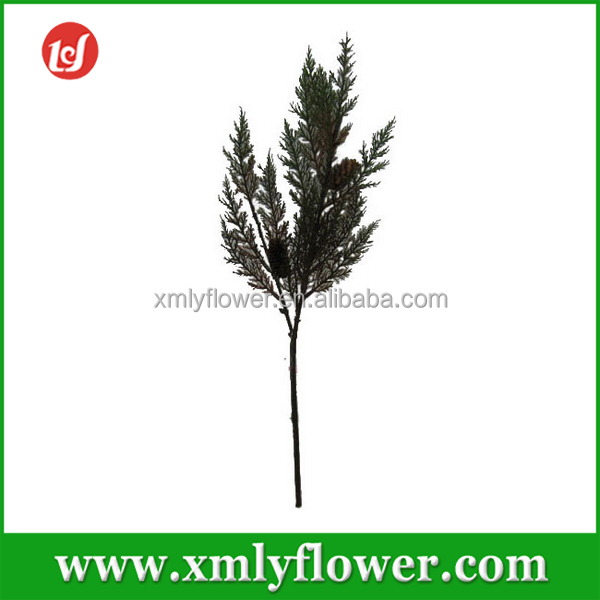 H53CM Plastic Artificial Pine Needle Tree Branch for Christmas Decorations