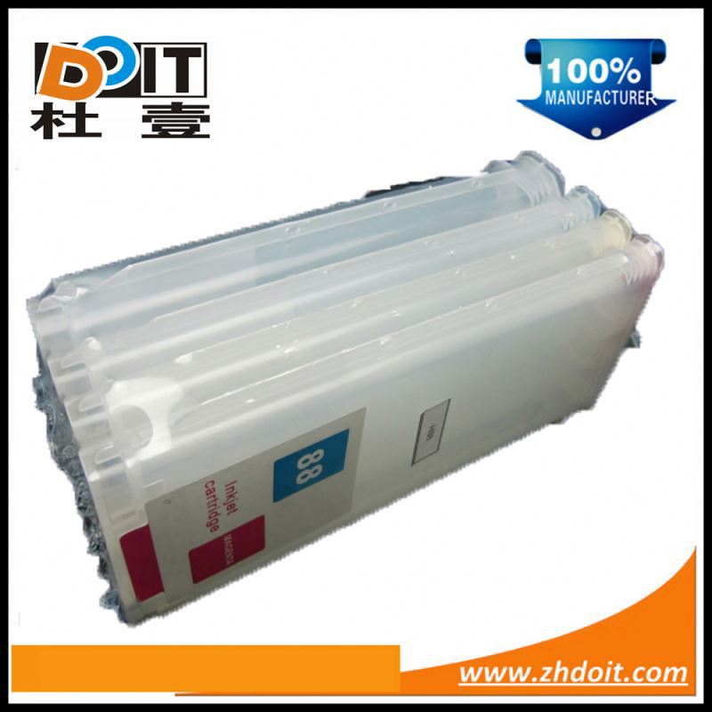 Hot in worldwide for HP14 14XL refillable ink cartridge for HP Officejet D155xi with ink