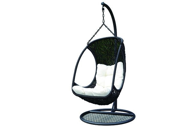 Hanging chair aluminium swing seat egg chair cheap buy for Cheap hanging chairs