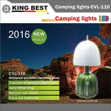 KINGBEST Halloween emergency lamp LED Fishing Lantern carry Metal rings portable camping lamp