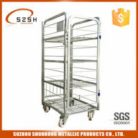milk cage trolley for day fresh milk