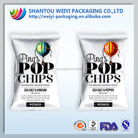 foil lined plastic bags/opaque ziplock bags/plastic food bags