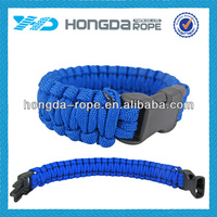 550 paracord survival bracelet , polyester parachute cord patterns, fashion christmas paracord survival bracelet