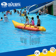 Customized Inflatable Banana Boat, water toy inflatable