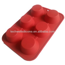 Non-toxic colorful exclusive silicone cupcake pans shapes