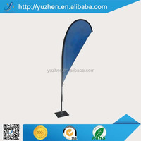 wholesale outdoor display advertising custom beach flag teardrop flags promotiuonal flag banner for sale