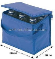 wine bottle cooler/ice bags for hot and cold