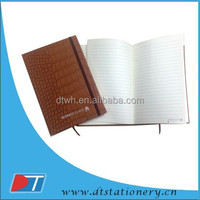 PU leather note book/vintage style diary/recycle note boook