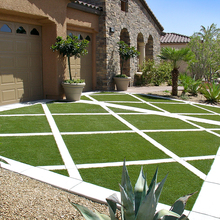 2016 stocked garden landscape Artificial Grass in stock(total)