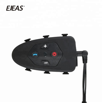 Eagle Full duplex 1200m VOX&Voice prompt waterproof bicycle bike to bike helmet intercom