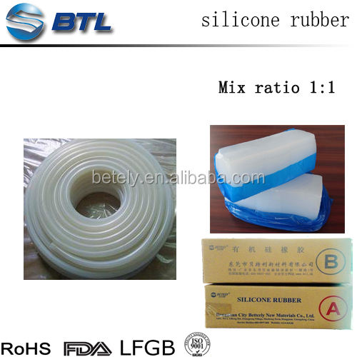 Silicone unvulcanized rubber compound for Industrial-grade tubes