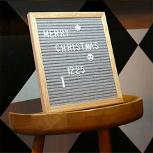 Custom kids black felt letter board stand
