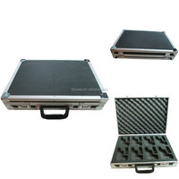 high quality aluminum hard gun case with carry aluminum case