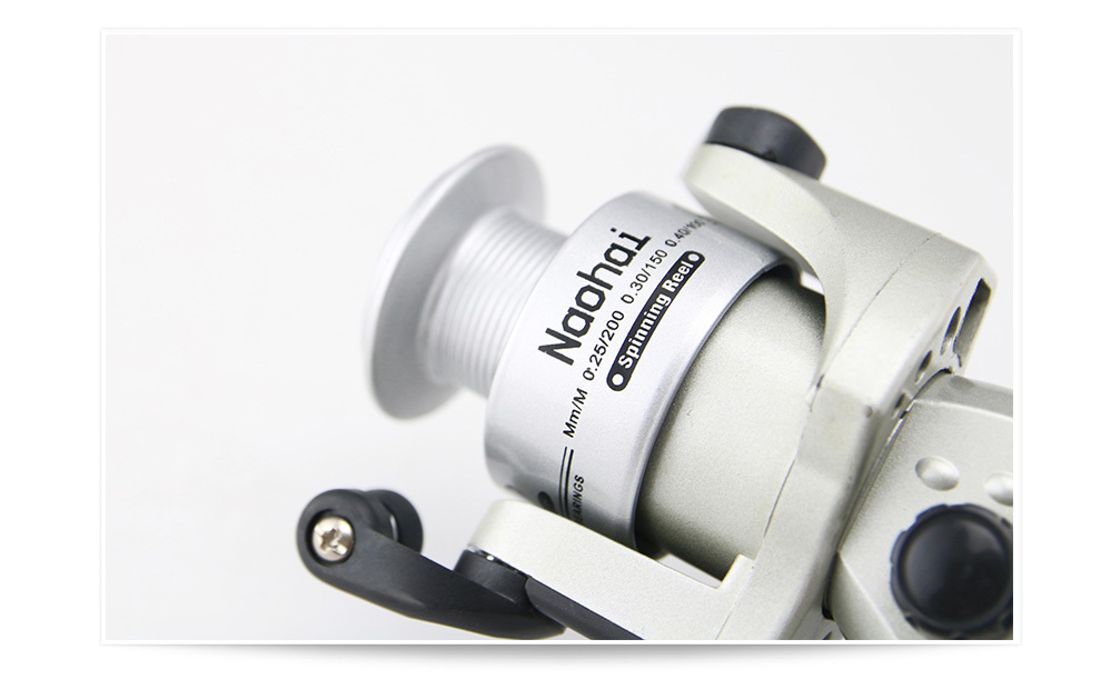 Silver fishing reels made in china spinning fishing tackle for Chinese fishing reels