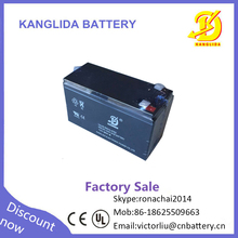 Factory direct sale 12v 9ah sealed ABS plastic AGM rechargeable battery for automatic forklift
