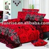 Reactive Printing Bedding Set Luxury