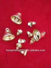 Silver color christmas door hanging bell decorations from china factory with good bulk price