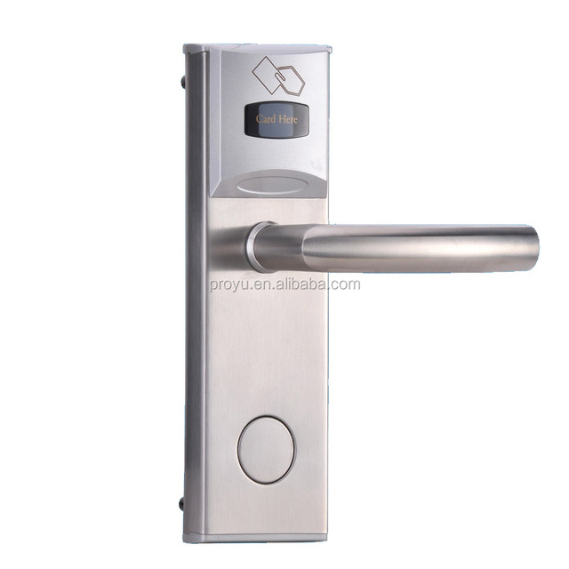 rfid card security handle safe electronic hotel smart keyless korea digital door lock access system