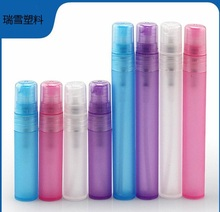 Cylinder 3ml Colorful Perfume Tester Pen/ Plastic Frosted Perfume Vials/ Spray Empty Bottle