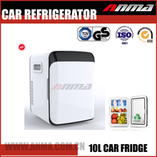 Portable outdoor travelling SUV car refrigerator 10L mini fridge freezer