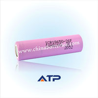 Hot Supplying Samsung 18650 Battery / 18650 samsung icr18650-24e 2400mAh