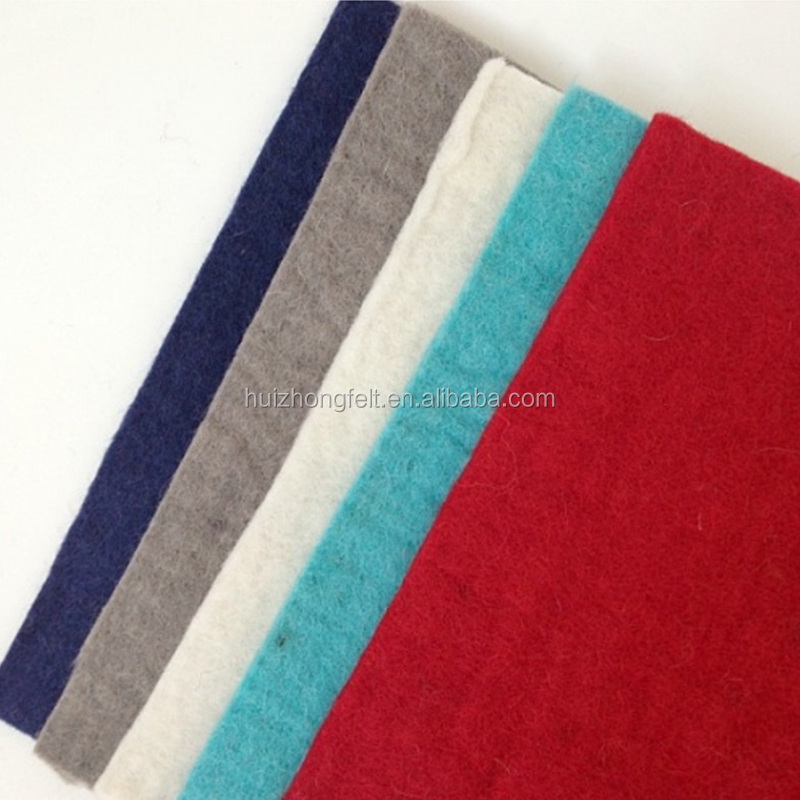 Polyester nonwoven colored felt, 1mm 2mm 3mm and 5mm