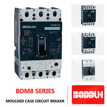 BDM8 CVL MCCB 250A MOULDED CASE CIRCUIT BREAKER