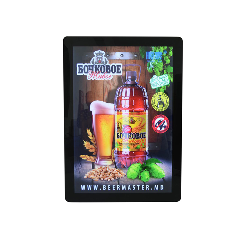 Hot sale aluminum frame magnetic light box slim light box <strong>advertising</strong>