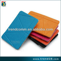 2013 new products fashion design leather for ipad mini leather case