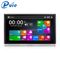 8 inch cheap car dvd player capacitive touch screen WinCE6.0 2 din car dvd player system with DVD Radio Bluetooth GPS