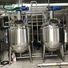 WX FDA GMP Qualified Pharmaceutical liquid preparation stainless steel mixing tank