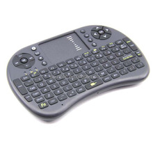Original i8 Russian English Hebrew Version i8+ 2.4GHz Wireless Keyboard Air Mouse Touchpad Handheld for Android TV BOX Mi KW-008