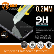 0.33mm 2.5D 9H 5 inch tempered glass screen protector for Intex Aqua Raze