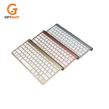 2.4G Ultra Slim Portable Wireless Keyboard and Mouse Combo for Desktop, Windows 7 / 8 / XP / Vista