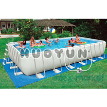 Large Portable Inflatable Metal Frame Swimming Pool