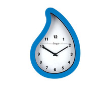 Promotional mini wall clock/small wall clock different shape/novelty bathroom decor clock