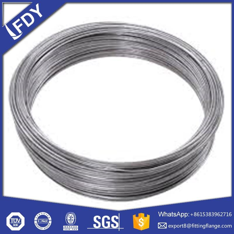 quality high carbon black/hot-dip galvanized wire/SAE1006 & SAE1008 crome added draw steel wire 11