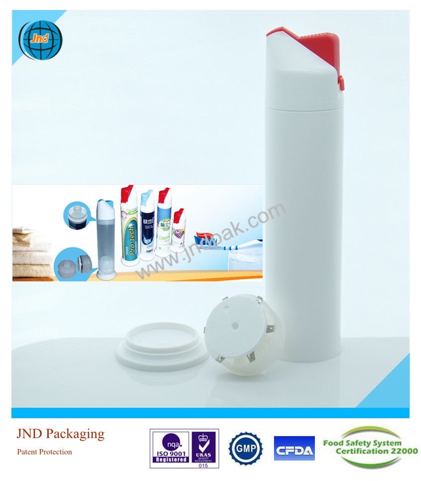 wholesale empty toothpaste tubes by GMP standard plant with super offset printing and Patent Protection