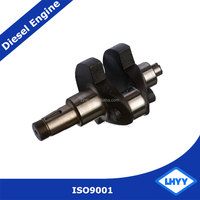 Competitive Price S1110 Diesel Engine Crankshaft Spare Parts