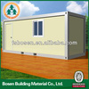 light steel flexible structural 40ft container house design