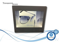 22 inch Transparent LCD Video Advertising Display