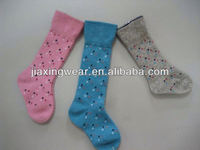 Anti-Bacterial long stocking for footwear and promotiom,good quality fast delivery