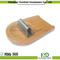 high quality kitchen wooden bread cutting board and knife