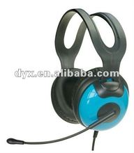 Best selling 3.5mm wired gaming dustproof comfortable earmuff stylish Computer headphone with Microphone high quality