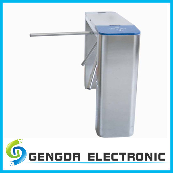 mechanical metal crowd control security tripod barriers with RFID safety entry system