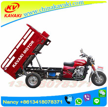 200cc Automatic dump Tri motorcycle Cargo Motorcycle / Used Tricycle KAVAKI