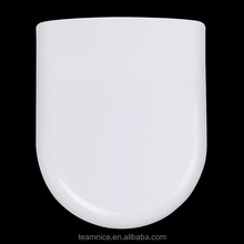 Radian Wrap over design D shape Fast clip Duroplast good level toilet seat