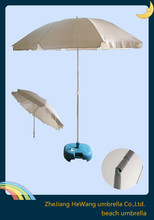 Clear cotton white sun beach umbrella