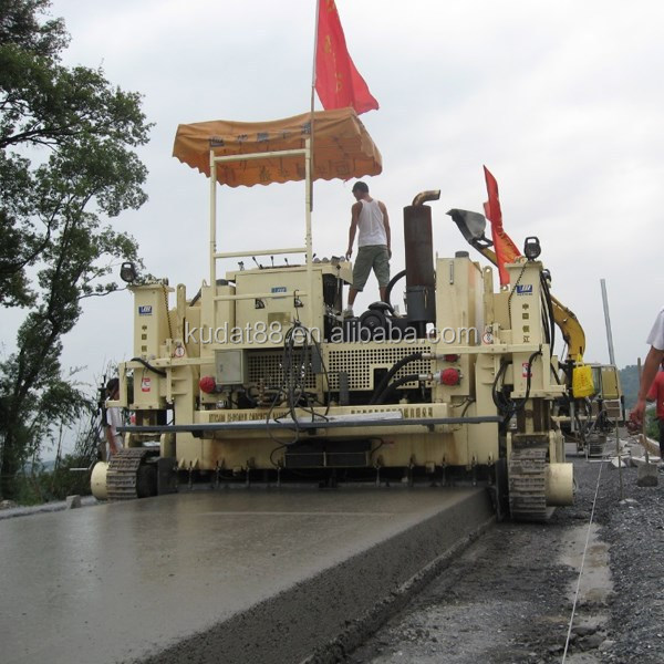 HTH3400B 3.4-6m slipform paver special for High Speed Rail