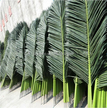 fake palm leaf manufacture special hot sale Artificial palm leaf